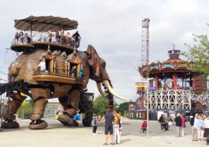 l'éléphant mécanique Nantes
