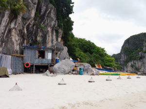 croisière baie d'halong, bai tu long