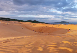dunes de Mui Ne sable rouge