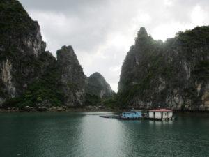 croisière baie d'halong bai tu long village flottant