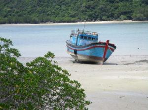 port Cang Ben Dam con dao