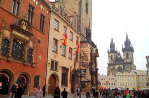 Prague place Staromestske Namesti
