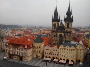 Eglise Notre Dame de Tyn Prague