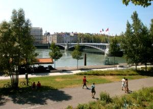 quais du Rhône Lyon
