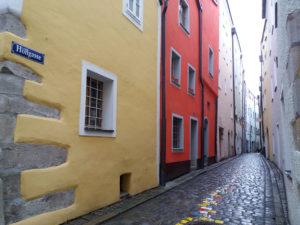 Passau, Bavière, Allemagne, Höllegasse