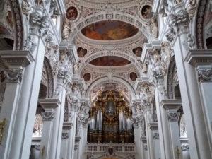 Passau, Bavière, Allemagne, Cathédrale Saint Stefan