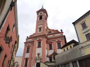 Passau, Bavière, Allemagne, Eglise Saint Paul