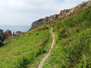 Sentier côtier Jersey lexploraterre.net