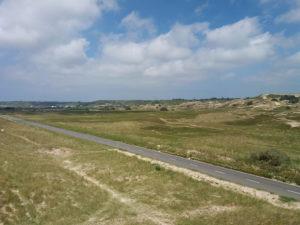 Dunes de blanches banque baie de Saint Ouen Jersey lexploraterre.net