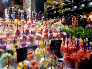Marché Mercado de la Boqueria Barcelone