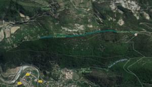 Itinéraire randonnée de Nyons aux Barons Perchés, provence
