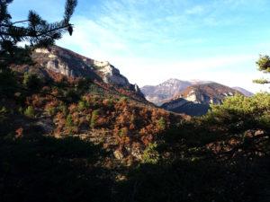Randonnée Saint Féréol Trente Pas, Provence, paysage, montagne