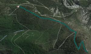 Itinéraire randonnée Nyons Garde Grosse, Provence