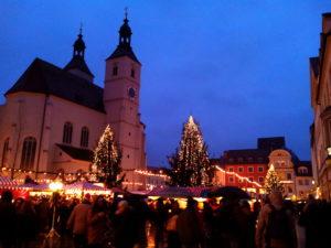 Marché de Noël, Marché de Noël de Regensburg, marché de Noël Allemagne
