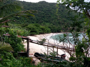 Camps des rangers Bay Canh Con Dao, île de Bay Canh, plage paradisiaque Vietnam
