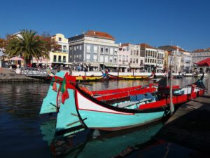 Venise portugaise, canaux d'Aveiro Portugal