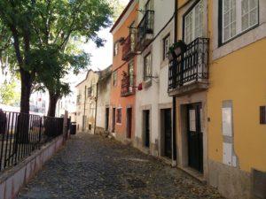 Rue Santa Estavao, Lisbonne