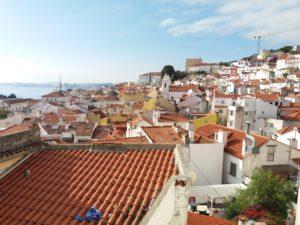 Mirador Santo Estevao, Lisbonne, Portugal