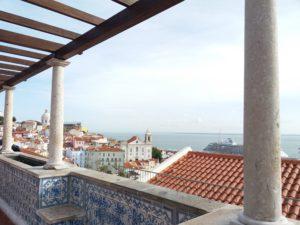 mirador de Santa Luzia, Lisbonne
