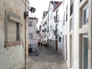 Calcadinha da figueira, Alfama, Lisbonne