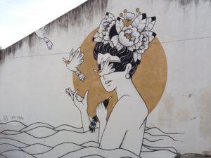 Street art Lisbonne, Alfama