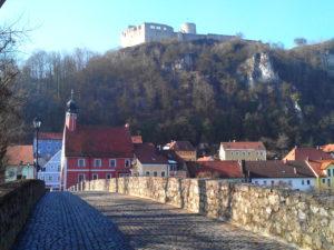 Kallmünz Allemagne, Burgkallmünz, château de Kallmünz