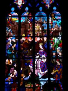 Vitraux Anne de bretagne, Vitraux église de Dinan