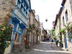 Dinan, plus belles cités médiévales de France, rue pittoresque France