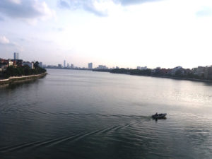 Lac de Tay Ho, Hanoi, Vietnam