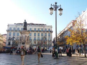Centre ville Lisbonne, Portugal