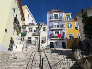 Quartier d'Alfama, Lisbonne