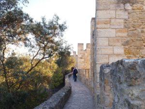 Remparts du château Saint-Jorge, Lisbonne