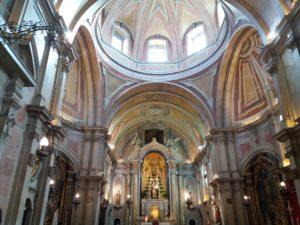 Intérieur église Santo Antonio de Lisbonne