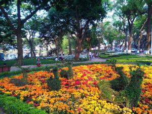 Parc lac Hoan Kiem Hanoi, Vietnam
