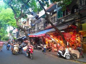 Vieux quartier, Hanoi, Vitnam, 36 corporations