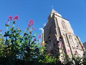 Eglise de Saint-Suliac, plus beau village de France