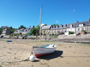 Port Saint-Suliac, plus beau village de France, vallée de la Rance