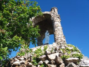 Oratoire de la vierge de Grainfollet, Saint-Suliac, plus beau village de France, vallée de la Rance