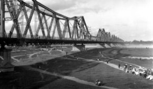 Pont Doumer, époque coloniale Hanoi