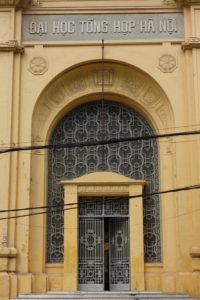 Université de Hanoi, époque coloniale Hanoi