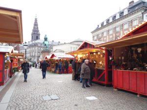 marché de noel copenhague, danemark