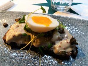 smorrebrod, restaurant cap horn copenhague, cuisine danoise