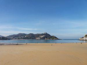 plage Saint-Sébastien Espagne
