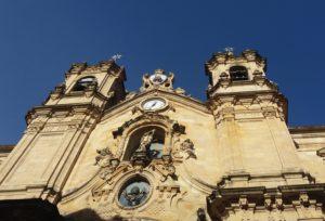 basilique santa-maria Saint-Sébastien Espagne
