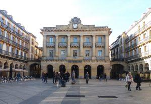 place de la constitucion Saint-Sébastien Espagne