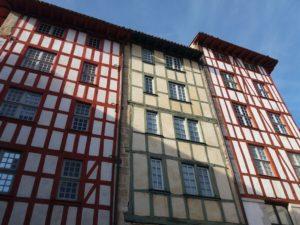 Architecture basque, maison basque Bayonne
