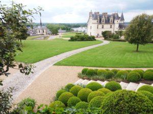 jardins château d'amboise