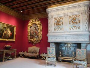 intérieur château de chenonceau