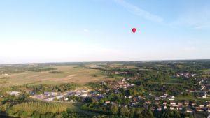 montgolfière château de la loire
