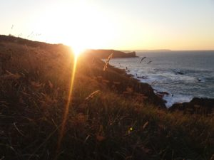 coucher de soleil pointe du grouin cancale